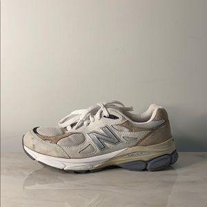 New Balance 990 Grey Sneakers